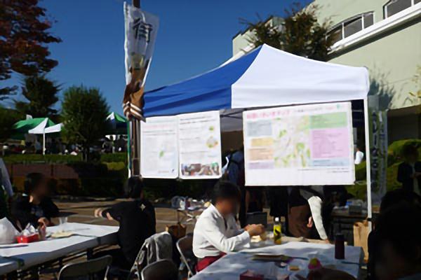 平成28年11月5日 第5回 街カフェにて、緑総生と地域が連携して作成した「いきいきマップ」を公開